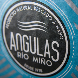 Brandinal | Angulas rio miño packaging